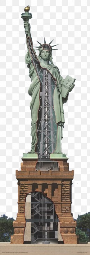 Statue Of Liberty - Statue Of Liberty One World Trade Center Hudson River Ellis Island The New Colossus PNG