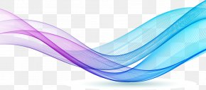 Colorful Lines - Blue Line Color Pattern PNG