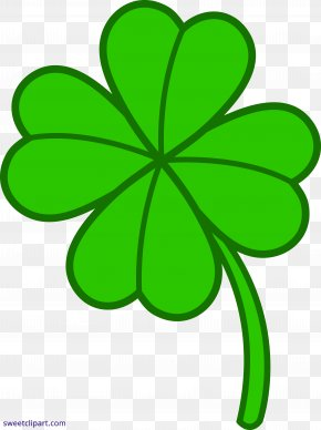 Lucky Vector - Clip Art Four-leaf Clover Shamrock Openclipart Image PNG