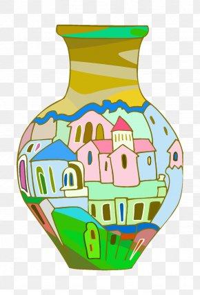 Vase - Clip Art Vase Vector Graphics Pottery Jug PNG