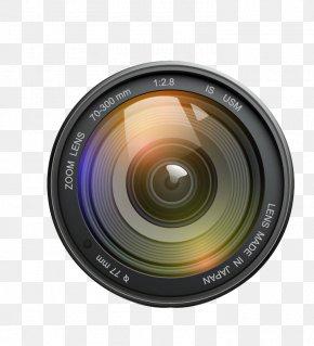Exquisite Camera Lens - Camera Lens Zoom Lens PNG