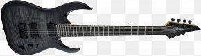 Electric Guitar - Electric Guitar Jackson Guitars Periphery Seven-string Guitar PNG