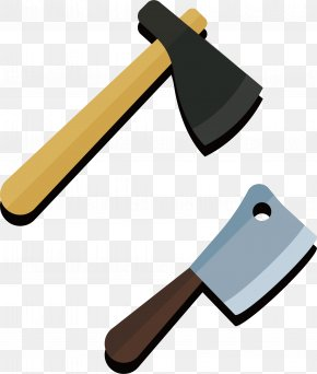 Ax And Knife - Knife Axe Tool PNG