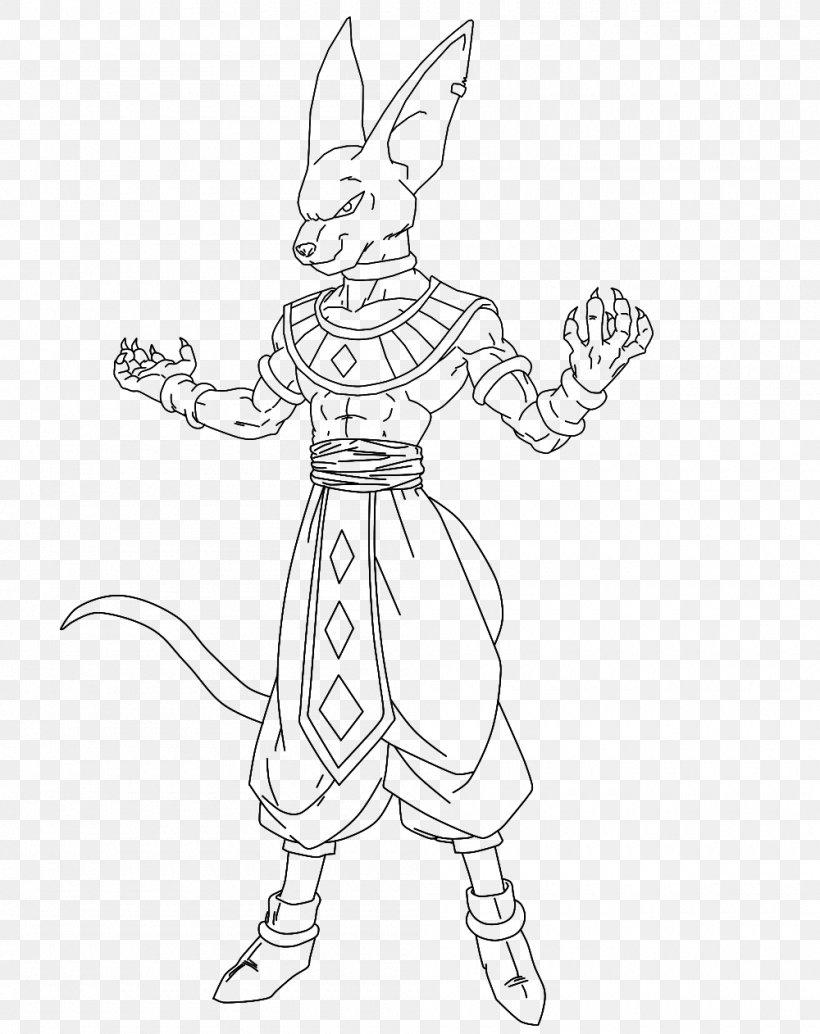 Beerus Goku Vegeta Coloring Book Dragon Ball Xenoverse 25, PNG ...