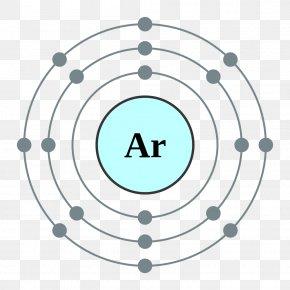 Dynamic Element - Argon Valence Electron Electron Shell Atom PNG