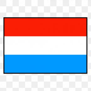 Flag - Flag Of Luxembourg Flag Of The Netherlands National Flag PNG