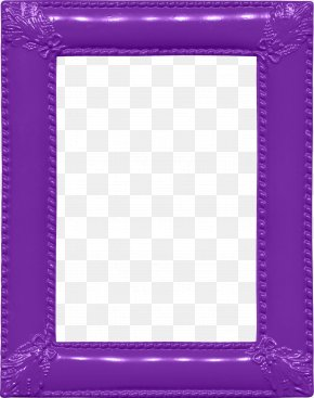 Blue Frame - Picture Frame Purple Area Pattern PNG