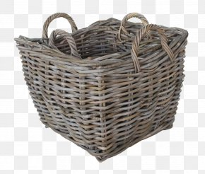 Wood Basket - Basket Wicker Hamper Rattan Clothing Accessories PNG