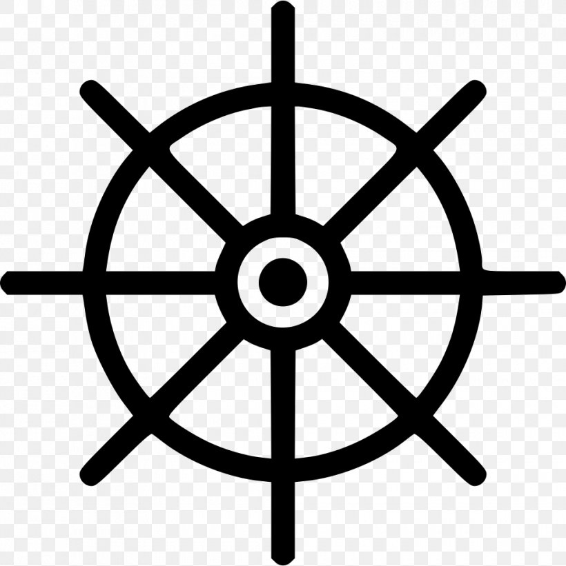 Ship's Wheel Steering Wheel Boat Clip Art, PNG, 980x982px, Ship S Wheel, Anchor, Black And White, Boat, Maritime Transport Download Free