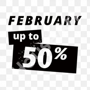 50% Sale - Logo Brand Rectangle Font PNG