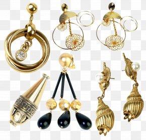 Jewelry - Earring Jewellery Pearl Clip Art PNG