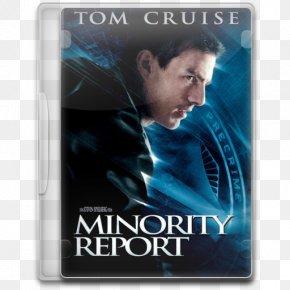 Tom Cruise - Tom Cruise Minority Report DVD Blu-ray Disc Film PNG