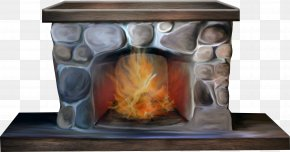 Cartoon Stove - Hearth Firewood Stove Combustion PNG