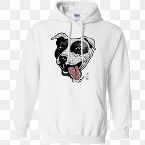 Pitbull - T-shirt Hoodie Sweater Gildan Activewear PNG