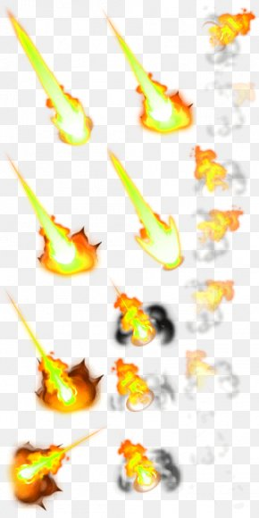 Yellow Simple Flame Meteor Effect Element - Flame Yellow Euclidean Vector Meteoroid PNG
