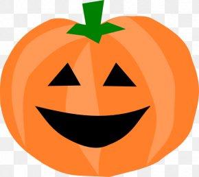Happy Pumpkin Cliparts - Pumpkin Halloween Jack-o-lantern Can Stock Photo Clip Art PNG