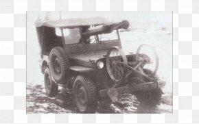 Jeep - Jeep Wrangler Car Willys MB Anti-tank Gun PNG