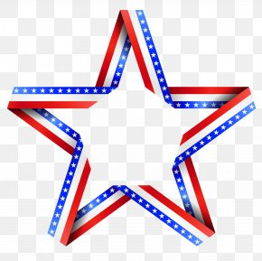 American Star Decor Clipart - Independence Day Flag Of The United States Clip Art PNG