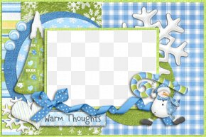 Christmas Frame - Picture Frame Christmas Winter Clip Art PNG