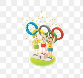 Olympic Award - 2016 Summer Olympics 2008 Summer Olympics 1996 Summer Olympics Olympic Symbols Cartoon PNG