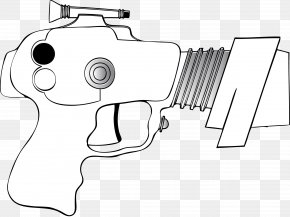 Ray Gun Cliparts - Gun Barrel Firearm Raygun Clip Art PNG