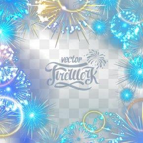 Beautiful Fireworks - Adobe Fireworks PNG