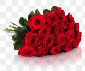 Rosen - Flower Bouquet Red Rose Wedding Anniversary Valentine's Day PNG