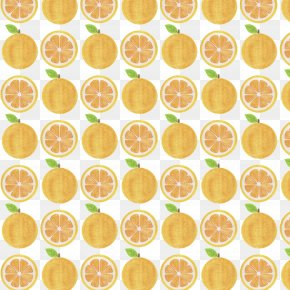Vector Hand Painted Orange Background - Royalty-free Illustration PNG