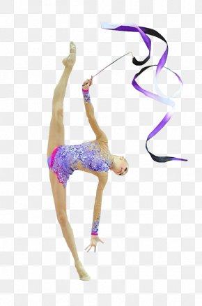 Ribbon Rhythmic Gymnastics - Ribbon Bodysuits & Unitards Rope (rhythmic Gymnastics) Shoulder PNG