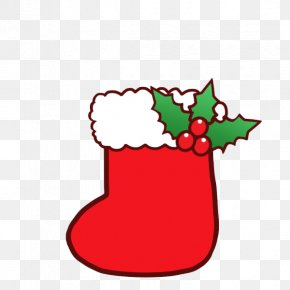 Christmas Tree - Christmas Tree Santa Claus Clip Art Christmas Day Sock PNG