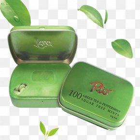 Rui Yi Le Eucalyptus Green Tea Mints - Green Tea Icon PNG