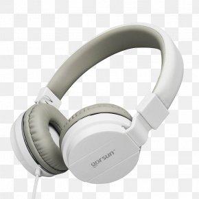 White Headphones - Headphones Microphone Headset Phone Connector Apple Earbuds PNG