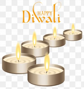 Happy Diwali Candles Clipart Image - Diwali SMS Wish Message Happiness PNG