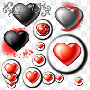 Heart - Love Heart Valentine's Day Desktop Wallpaper Clip Art PNG