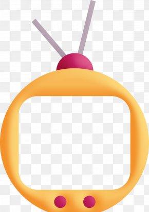 Yellow Antenna Television - Television Antenna PNG