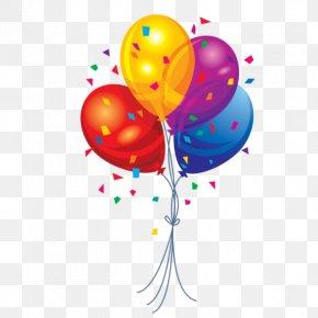 Balon - Balloon Birthday Clip Art PNG