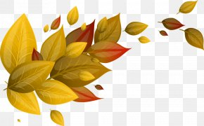 Autumn Leaves - Autumn Leaf Euclidean Vector Yellow PNG