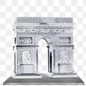 Arc De Triomphe - Arc De Triomphe Sheet Metal Laser Cutting Landmark PNG
