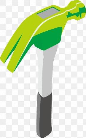 Cartoon Vector Hammer - Hammer Tool PNG