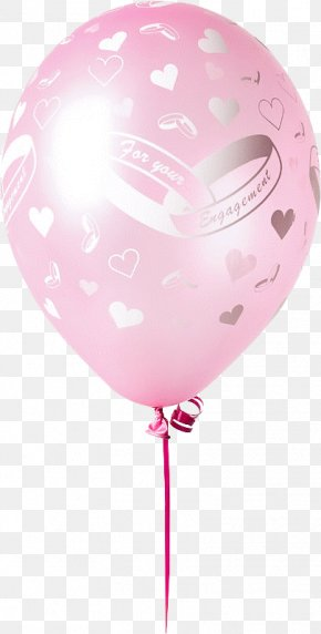 Pink Balloon - Toy Balloon Animation Clip Art PNG