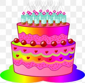 Birthday Cake Clip Art - Birthday Cake Animation Tart Wedding Cake Clip Art PNG