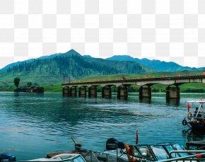 Yalu River Bridge - Dandong Sino-Korean Friendship Bridge Yalu River Jian PNG