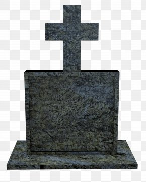 Grave - Headstone Cemetery Cross Grave Monument PNG