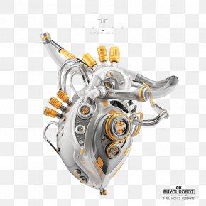 Heart - Heart Robot Wavefront .obj File Digital Art PNG