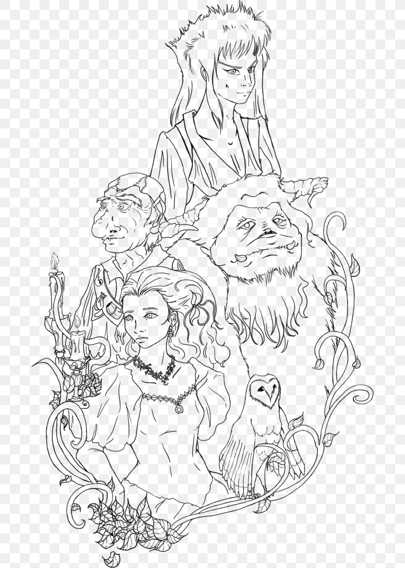 - Jim Henson's Labyrinth Adult Coloring Book Colouring Pages The