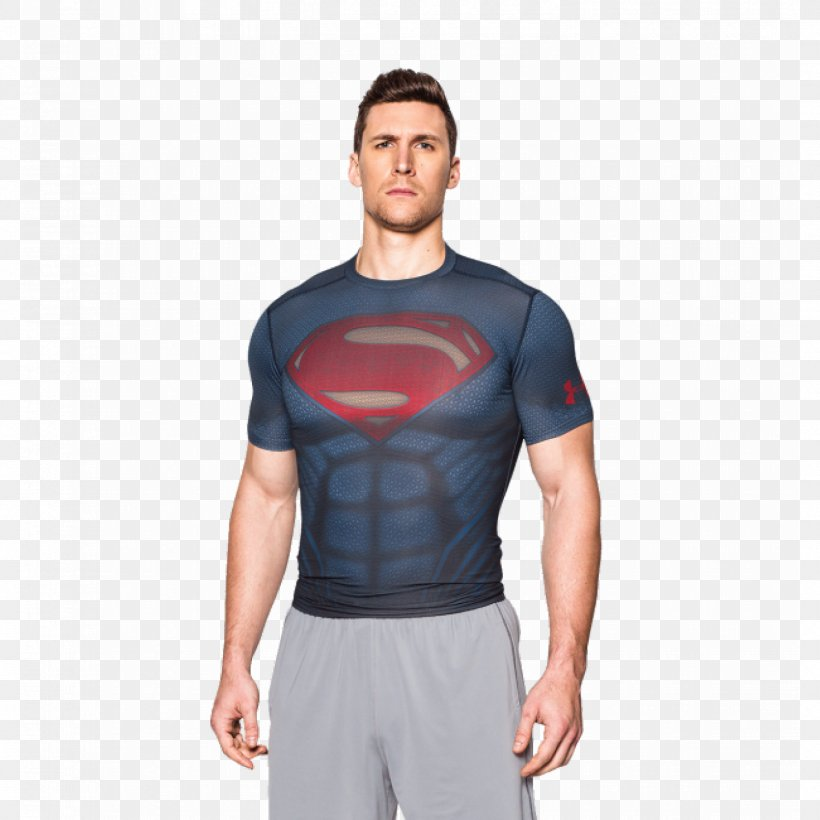 T-shirt Superman Batman Under Armour, PNG, 1500x1500px, Tshirt, Abdomen, Alter Ego, Arm, Batman Download Free