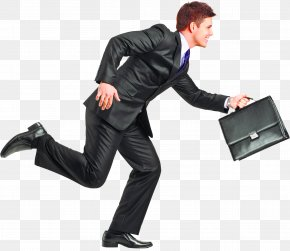 Running Businessman Image - Image Resolution Wallpaper PNG