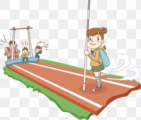 Youth Games - Cartoon Illustration PNG