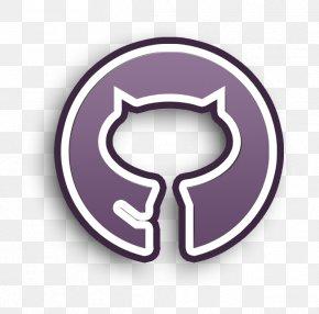 Symbol Purple - Circle Icon Github Icon Outline Icon PNG
