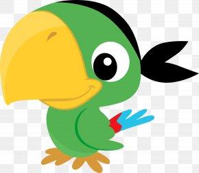 Pirate Parrot - Pirate Parrot Piracy Pirate Party Clip Art PNG
